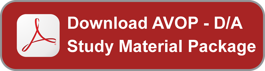 Download AVOP D/A Study Material Package