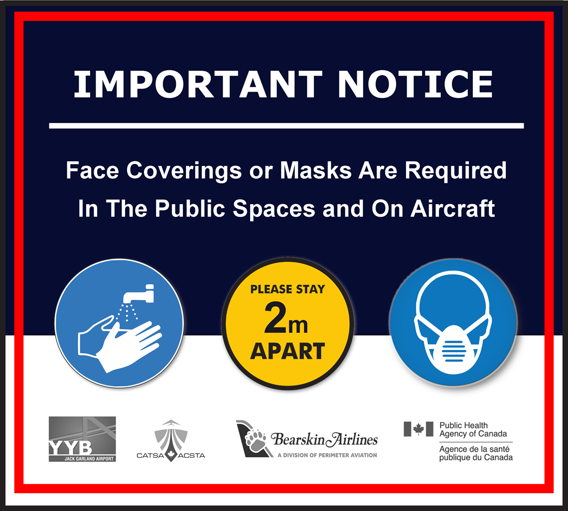 Masks Are Required to Travel